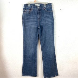 Levis Perfectly Slimming Bootcut Size 10 M Jeans
